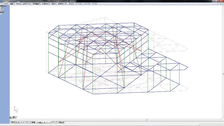 3D解析モデルA