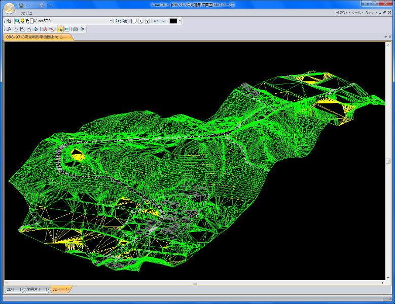 土木系3次元汎用CAD「V-nasClair」