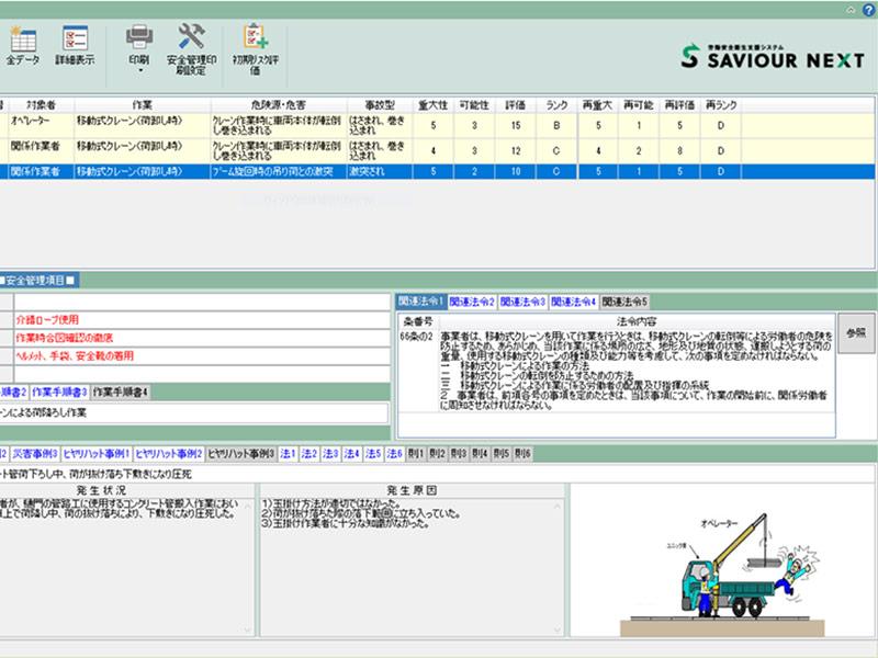 労働安全衛生総合支援システム「Saviour Evo」