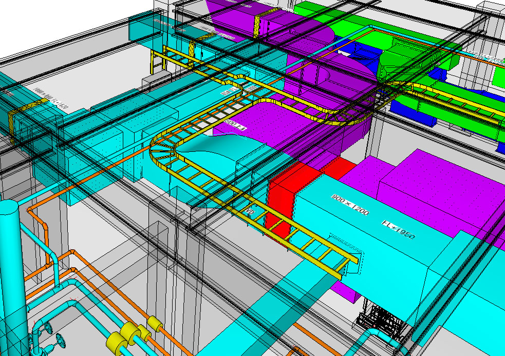 建築設備施工図CAD Design Draft 空調・衛生版