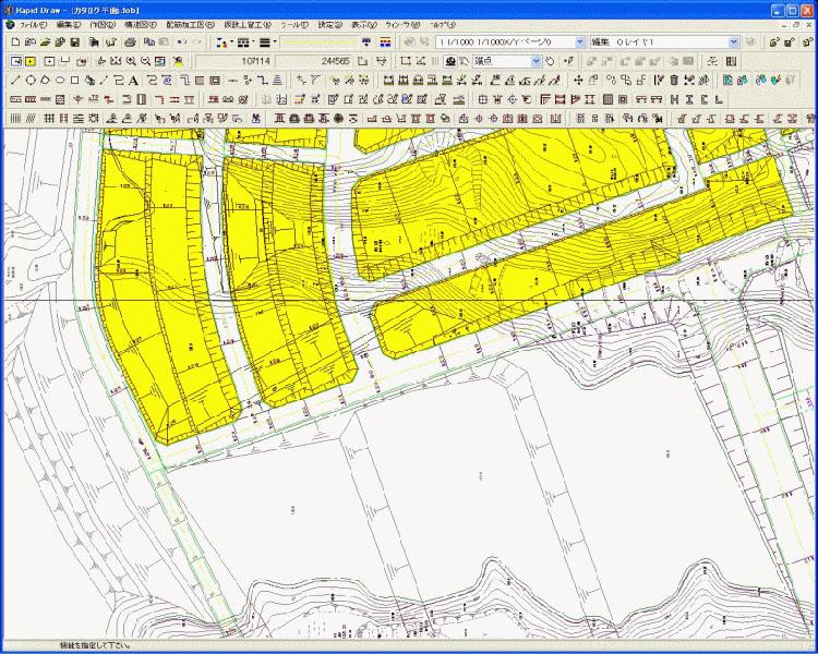 土木用高機能低価格CAD Rapid Draw