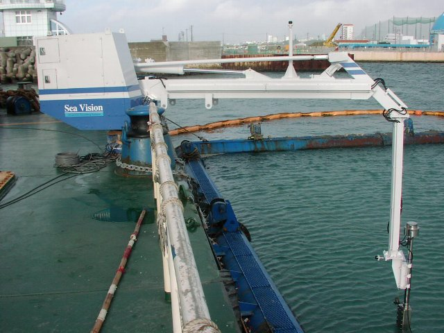 浚渫跡管理3次元ソナーシステム「SeaVision-501A」
