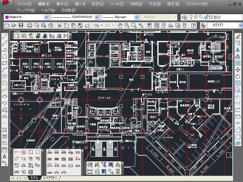 建築設備設計CAD EQ-II 「躯体」