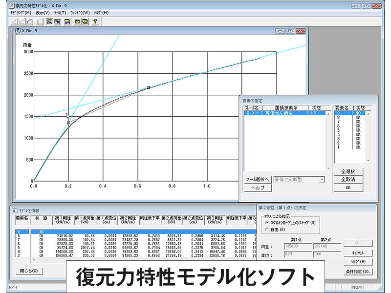 SS21/Dynamic復元力特性モデラ