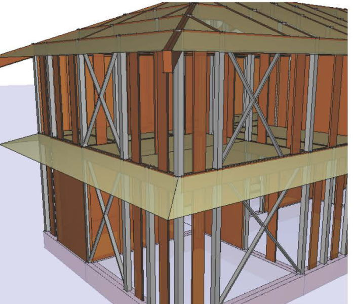 木造軸組み ASTIM/壁フレーム