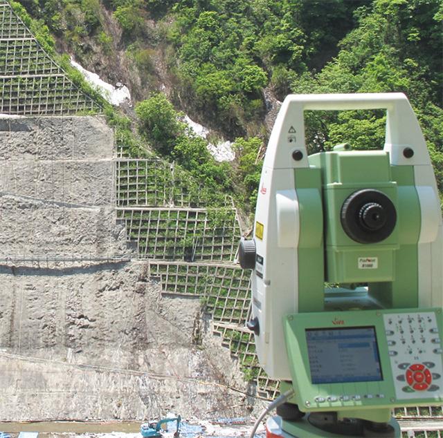 3次元変位計測システム「DAMSYS ダムシス」