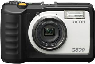 建設現場向けデジタルカメラ G800