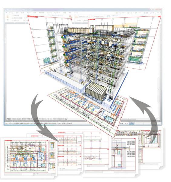 建築設備専用CAD Rebro