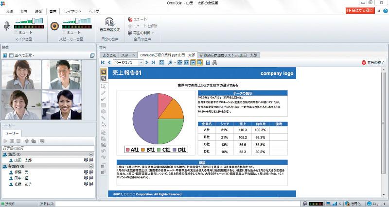 Web会議システム ブラザー OmniJoin