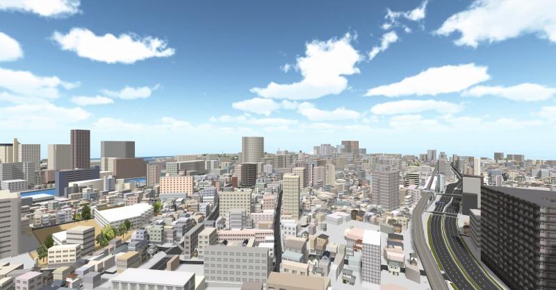 BIMCIM業務向け「3D都市モデルデータ」